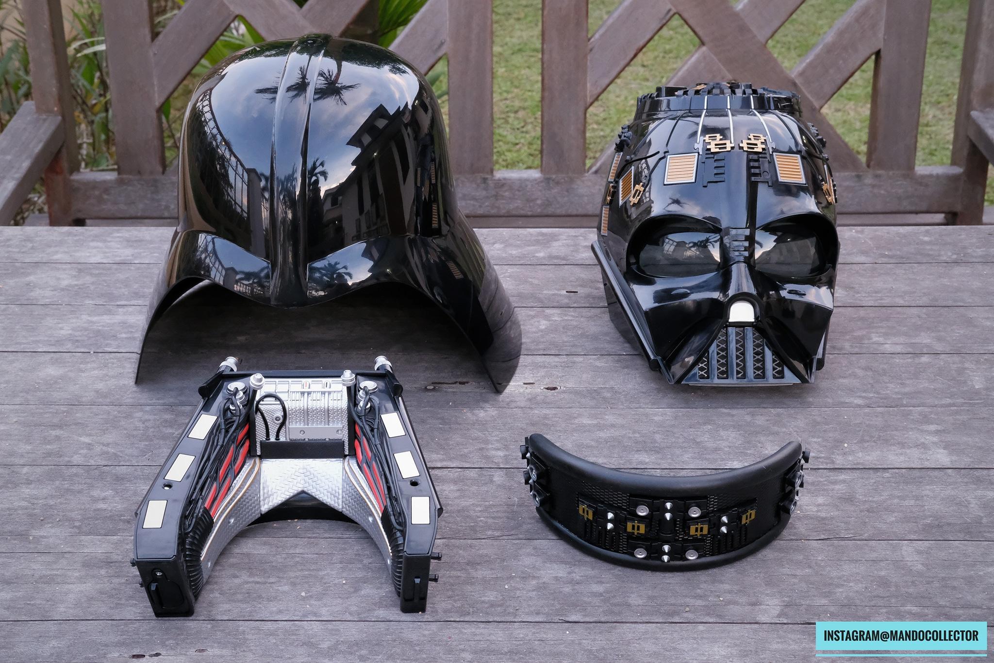 Casque Black Serie Vader 1:1 PReOY