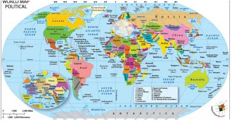 أين نقف في قائمة الأقاليم؟