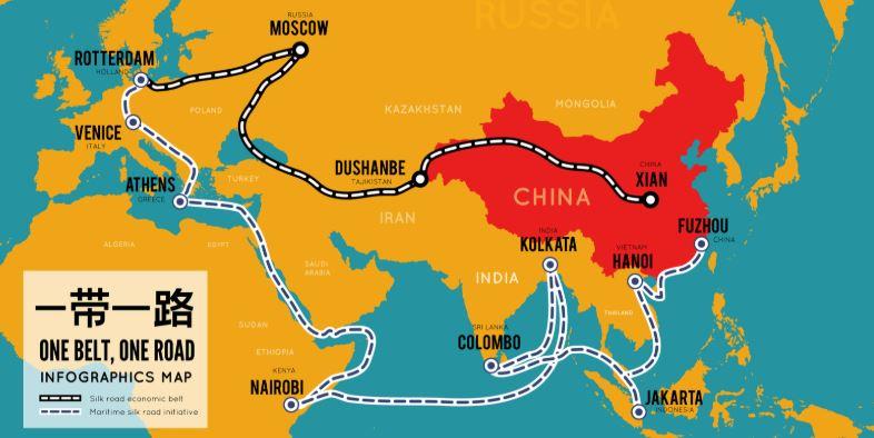 استراتيجية الحزام والطريق الصينية للقرن الحادي والعشرين