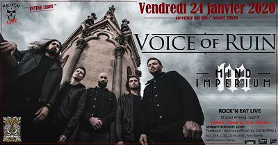 VOICE OF RUIN [Lyon - 69] > 24-01-2020