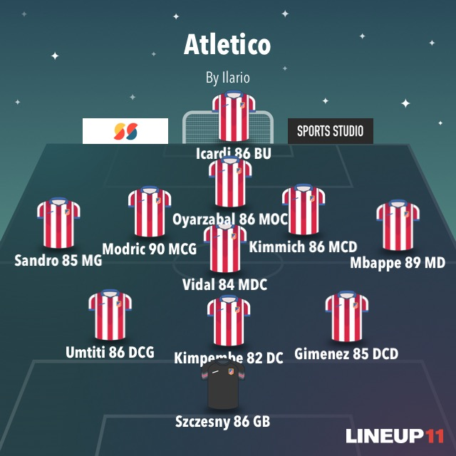 XI Atletico Madrid PnxXR