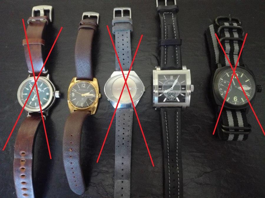 [VDS] Montres russes + bezel + bracelets edit du 15/06 Poelk