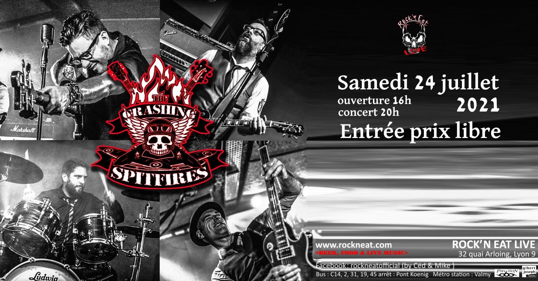 CRASHING SPITFIRES [Lyon - 69] > 24-07-2021