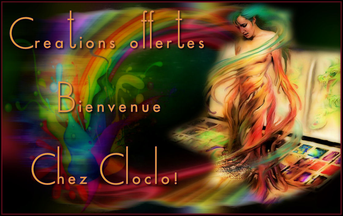 ~~CREATIONS OFFERTES - CHEZ CLOCLO~~ (BADGIRLS A CHANGE SON PSEUDO!!)