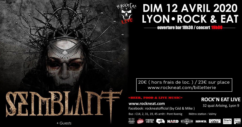 SEMBLANT [Lyon - 69] > 12-04-2020