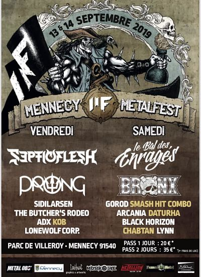 MENNECY METAL FEST [MENNECY - 75] > 13-09-2019