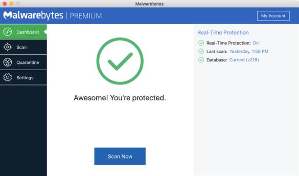 Malwarebytes Premium for MAC précracké (v.3.5.26.1796) Ang