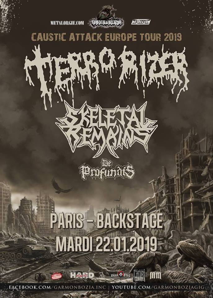 TERRORIZER [Paris - 75] > 22-01-2019