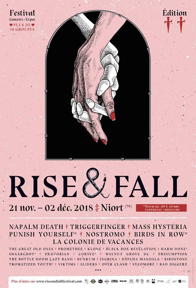 RISE & FALL FESTIVAL [Niort - 79] > 21-11-2018