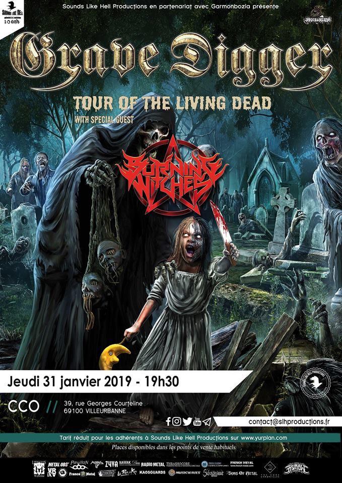 GRAVE DIGGER [Lyon - 69] > 31-01-2019