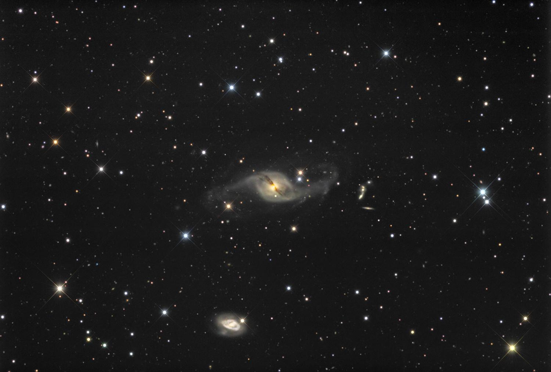 NGC 3718 à l'ODK 16 R8VPe