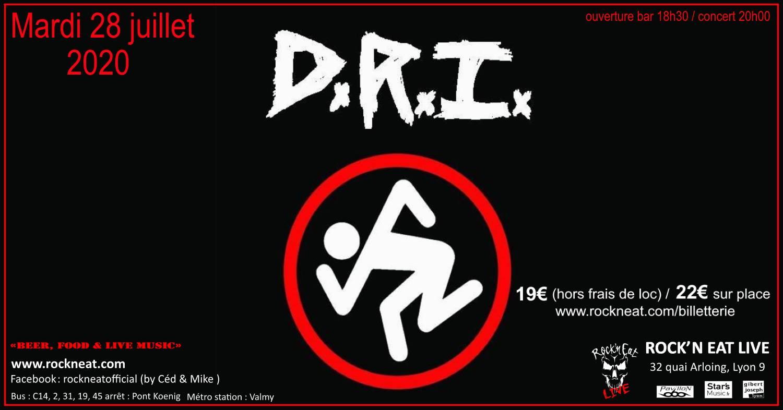 D.R.I. [Lyon - 69] > 28-07-2020