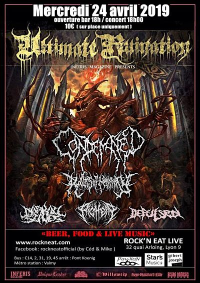 ULTIMATE RUINATION [Lyon - 69] > 24-04-2019