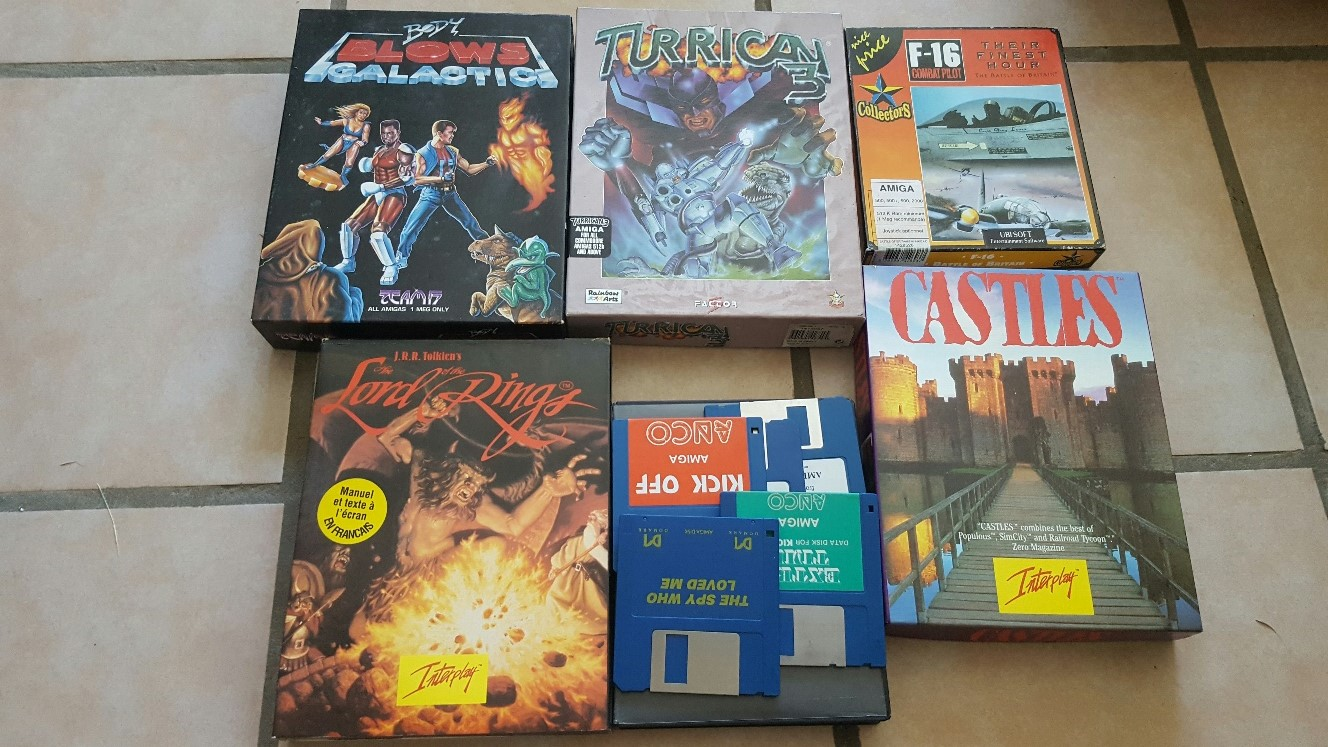 Vente ordinateurs et jeux Atari, Amiga, Amstrad et PC MAJ 20/01 VbGoZ