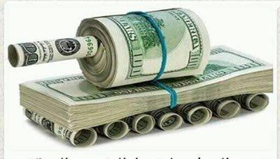السلام الذي يزيد الانفاق العسكري