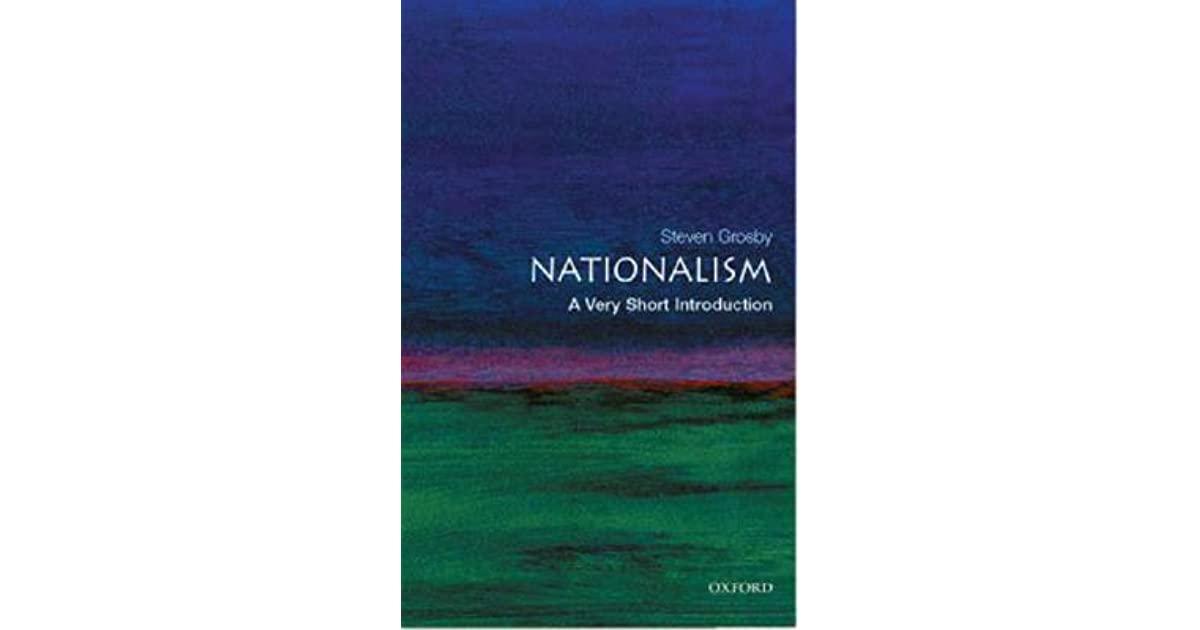 القومية: مقدمة قصيرة جدًا