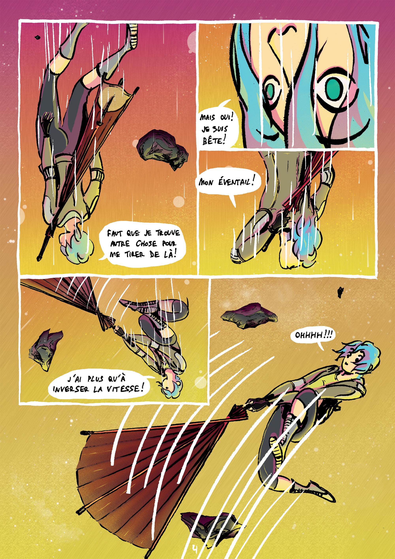 Projet BD SF/ Comics WEIRD VlGbe