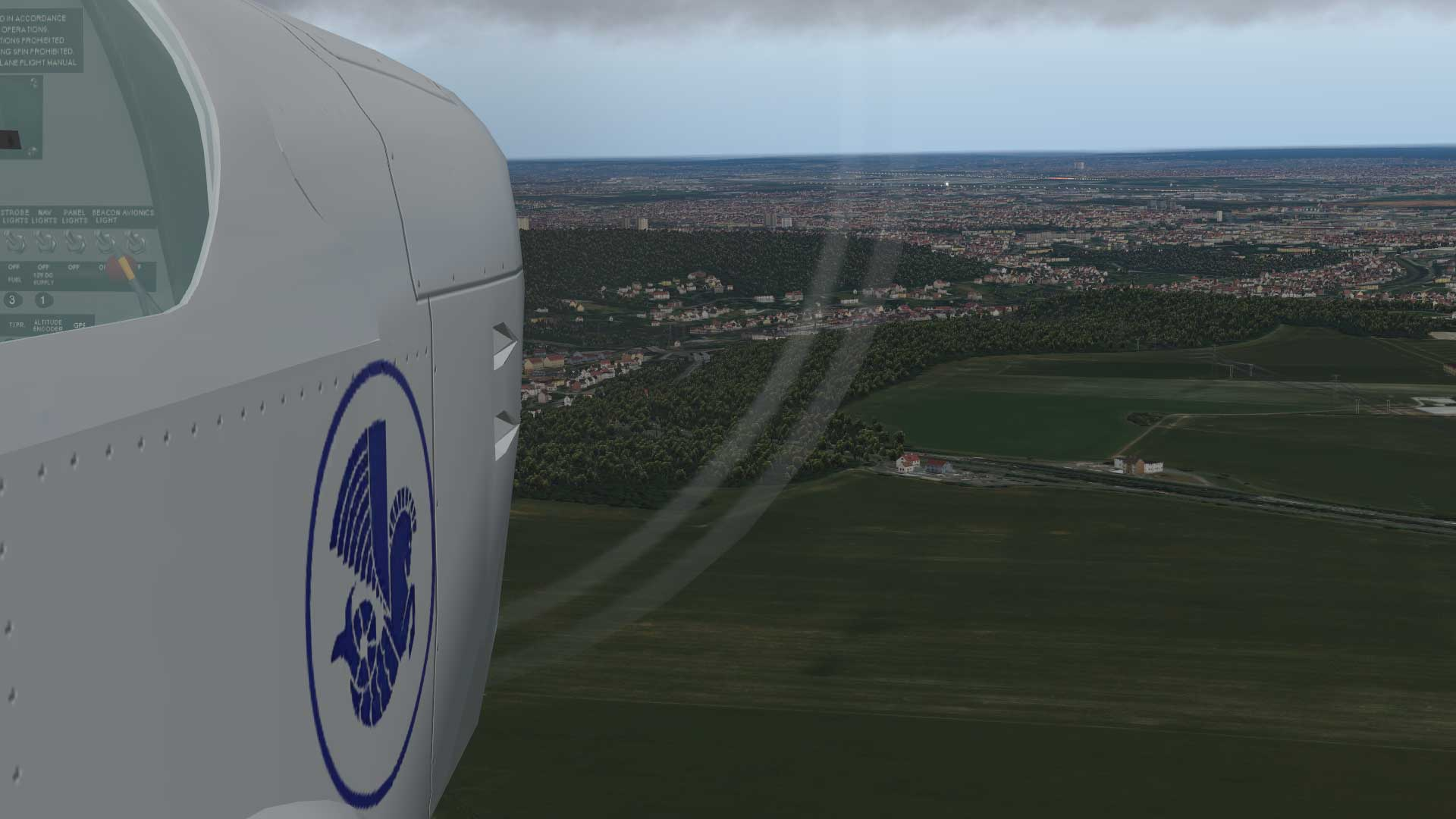 Le Briefing at LFPL - X-Plane 11 Screenshots - X-Plane Org Forum