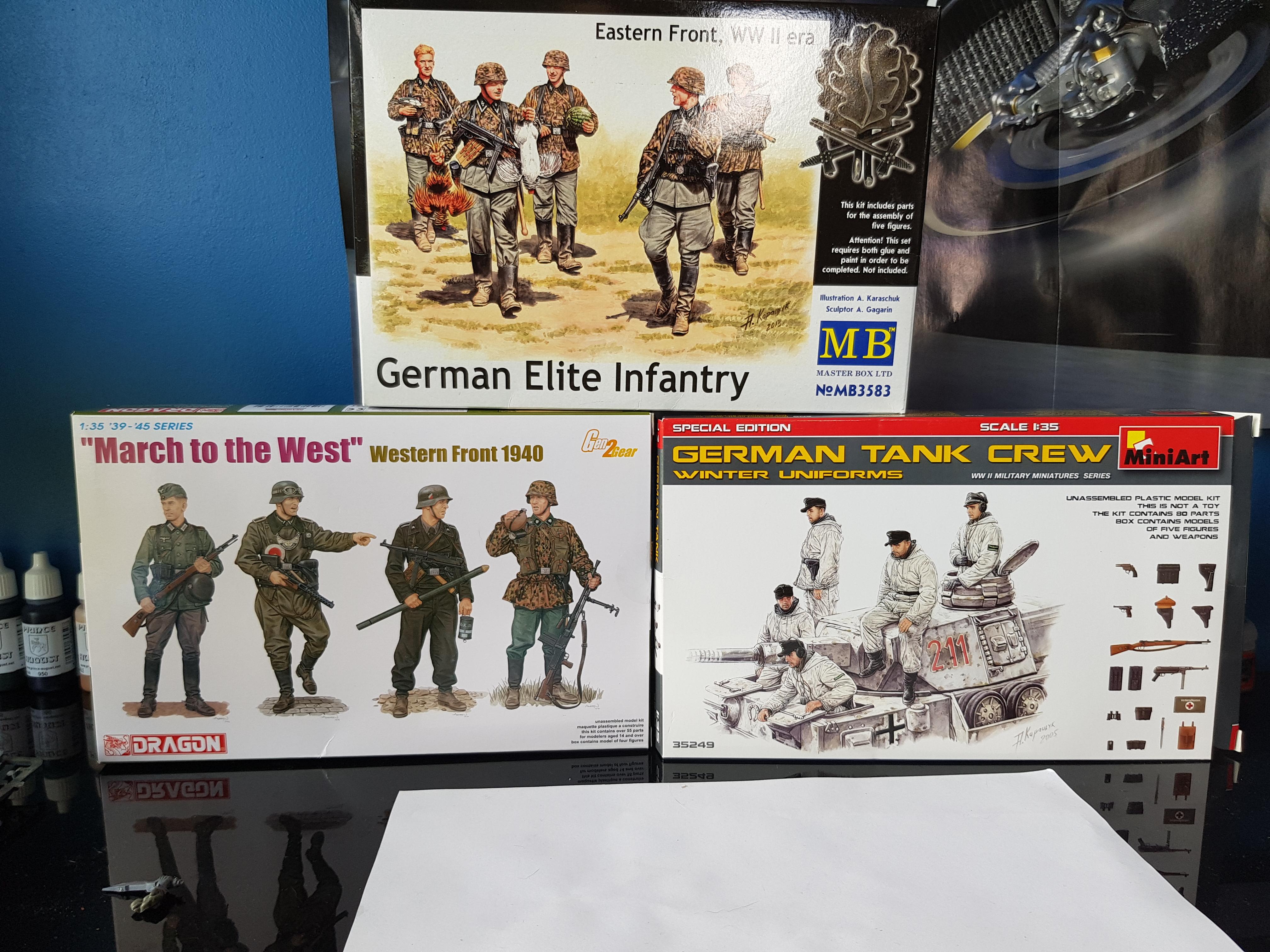 Infanterie allemande 1/35 Wd0Gw