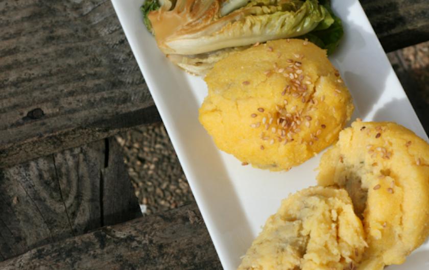 Boulettes de polenta artichaut équilibre acido-basique