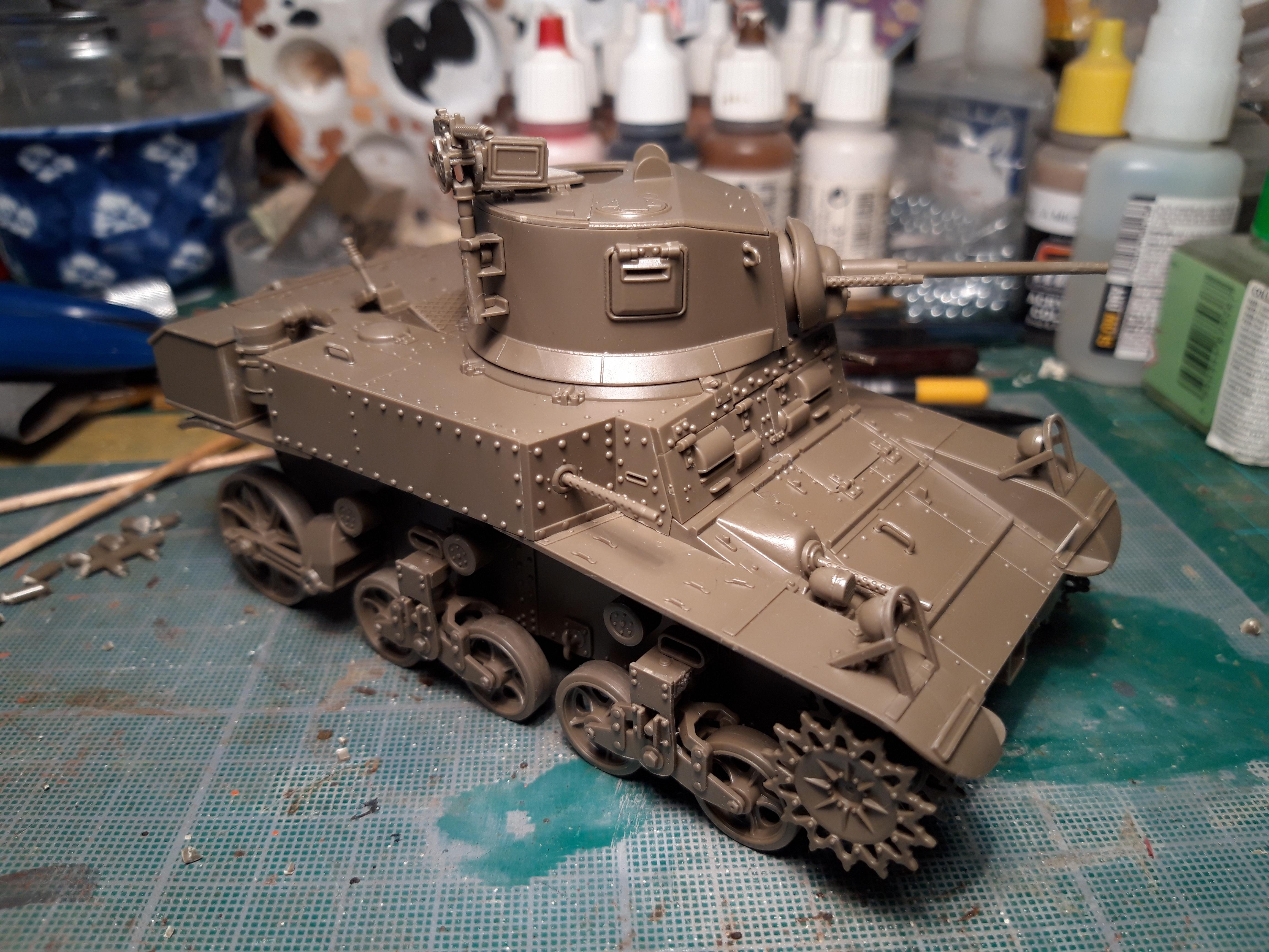 TAMIYA 1/35 M3 STUART LATE XEn9E