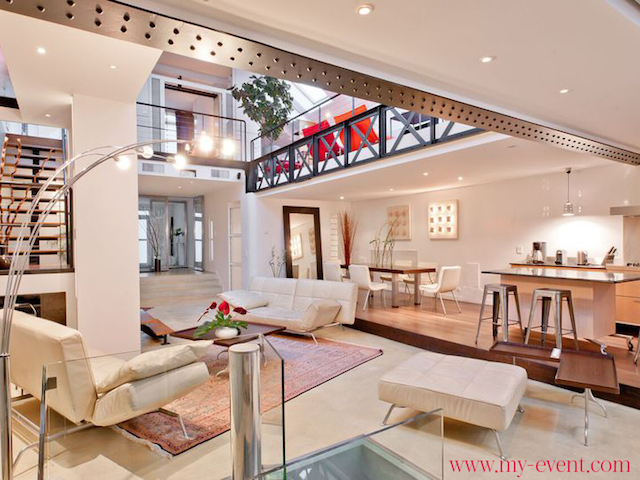 Lieux pour organiser un team building location lieu paris for Location appartement atypique paris