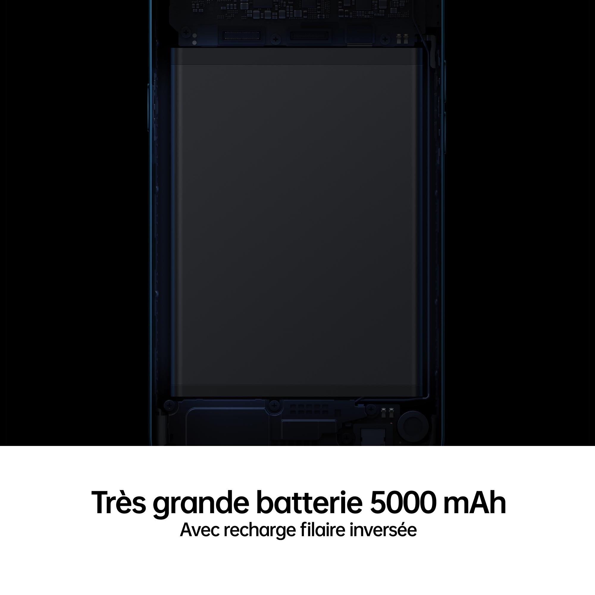 OPPO A5 2020 Noir Onyx Batterie 5000 mAh Sortie Stéréo
