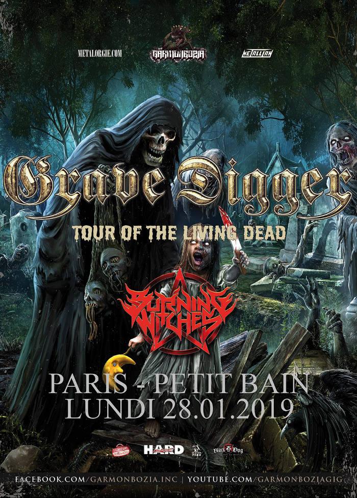 GRAVE DIGGER [Paris - 75] > 28-01-2019