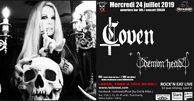 COVEN [Lyon - 69] > 24-07-2019