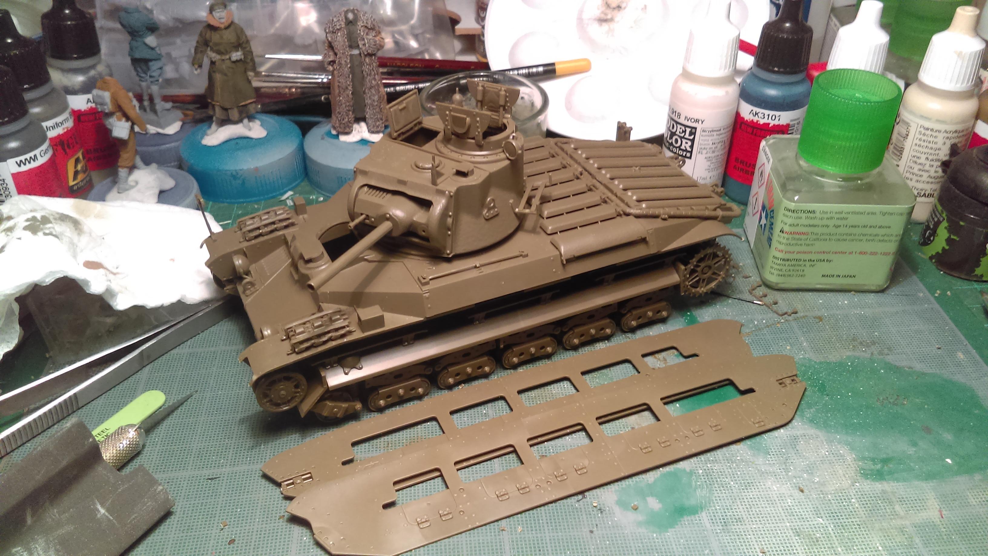 MATILDA Mk III/IV CS Red Army LEND-LEASE ACT - TAMIYA 1/35  N° 335 YpVwN
