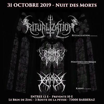 NUIT DES MORTS II [Chambéry - 73] > 31-10-2019