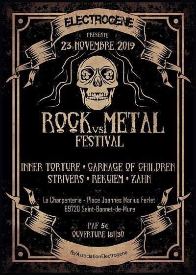 ROCK VS METAL FEST [St-Bonnet de Mure - 69] > 23-11-2019
